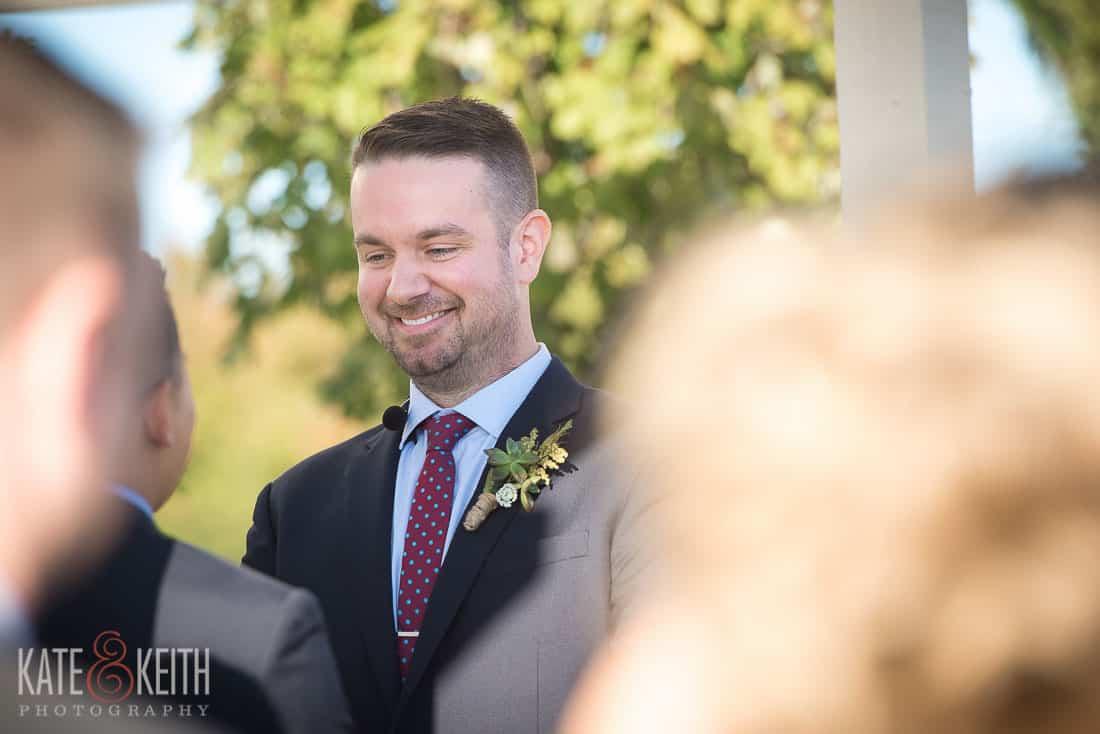 Oswego, NY wedding grrom