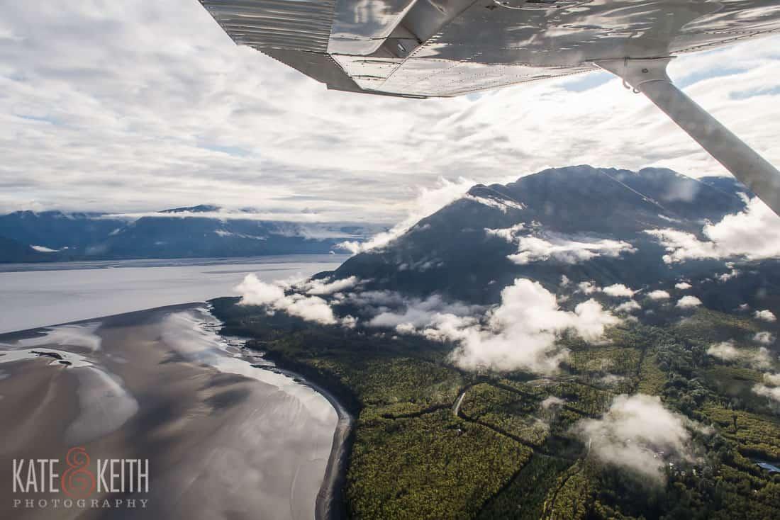 View Discovery flight Land Sea Aviation Anchorage Alaska