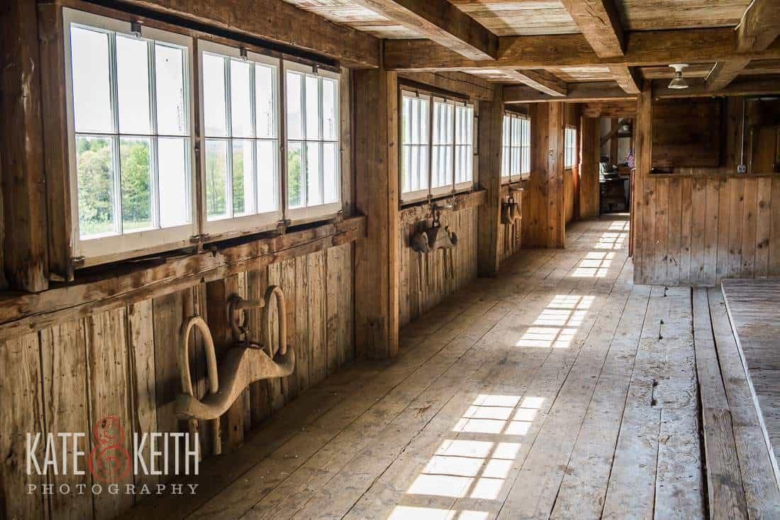 Rustic New Hampshire Barn Wedding Venue