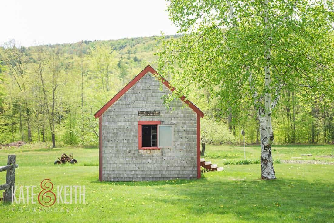 Shed Moody Mountain Farm