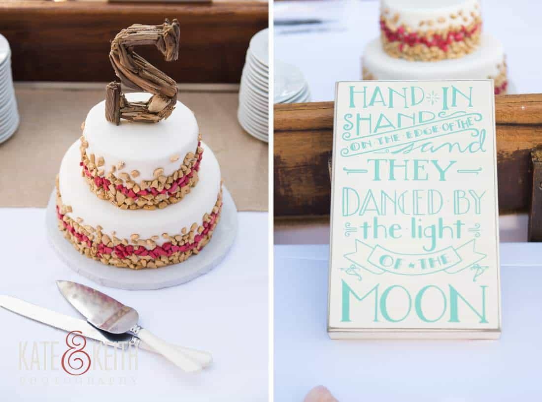 Caribbean Wedding Cake Aruba