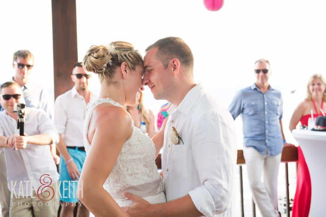 Caribbean Wedding Bride and Groom Aruba