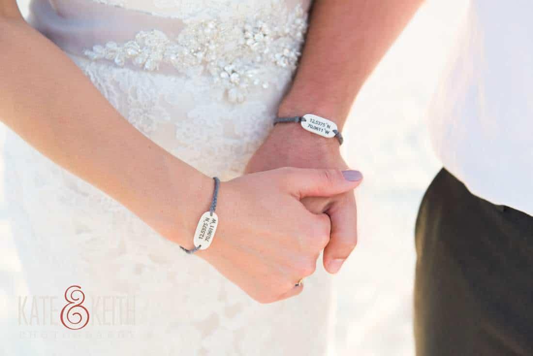 Wanderer Bracelets Caribbean Wedding Aruba