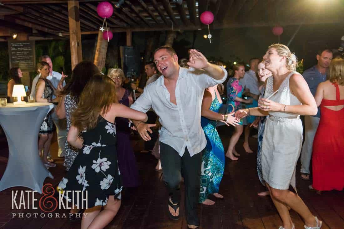 Caribbean Wedding Dancing