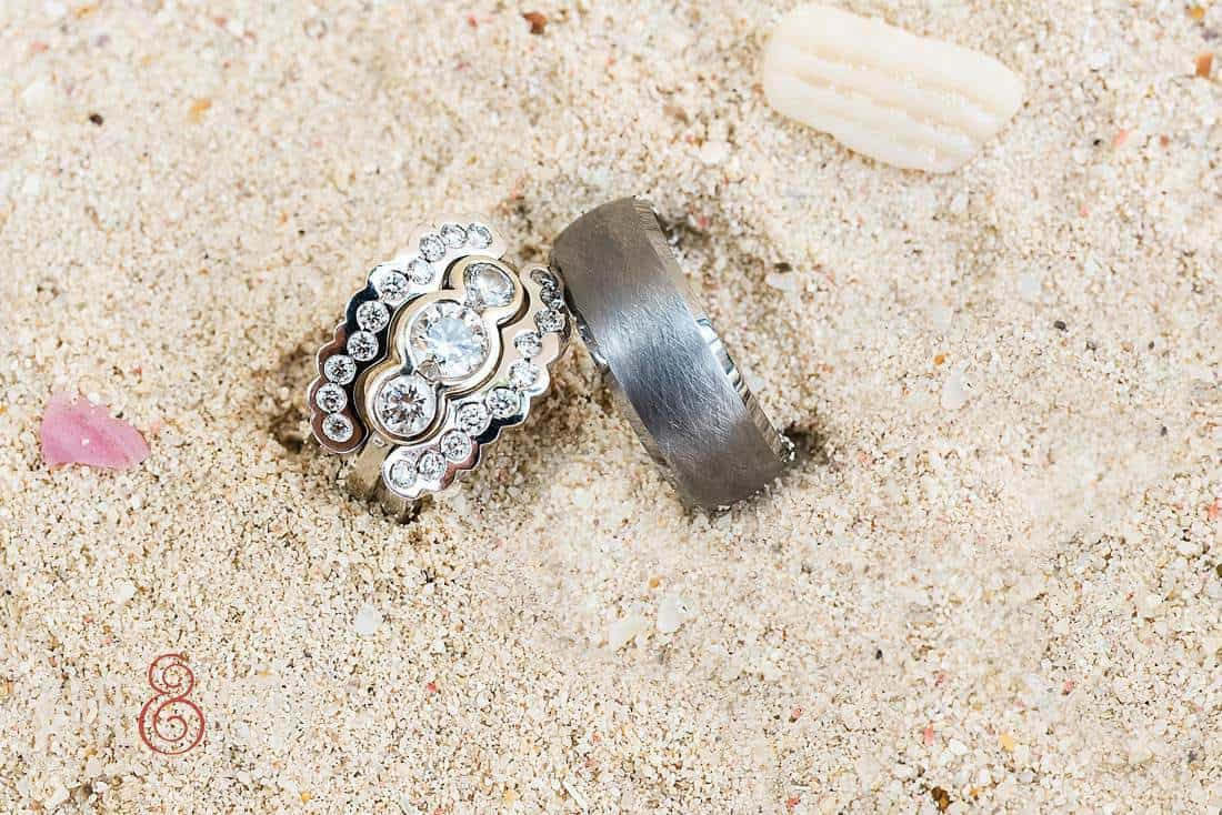 Caribbean Wedding Rings