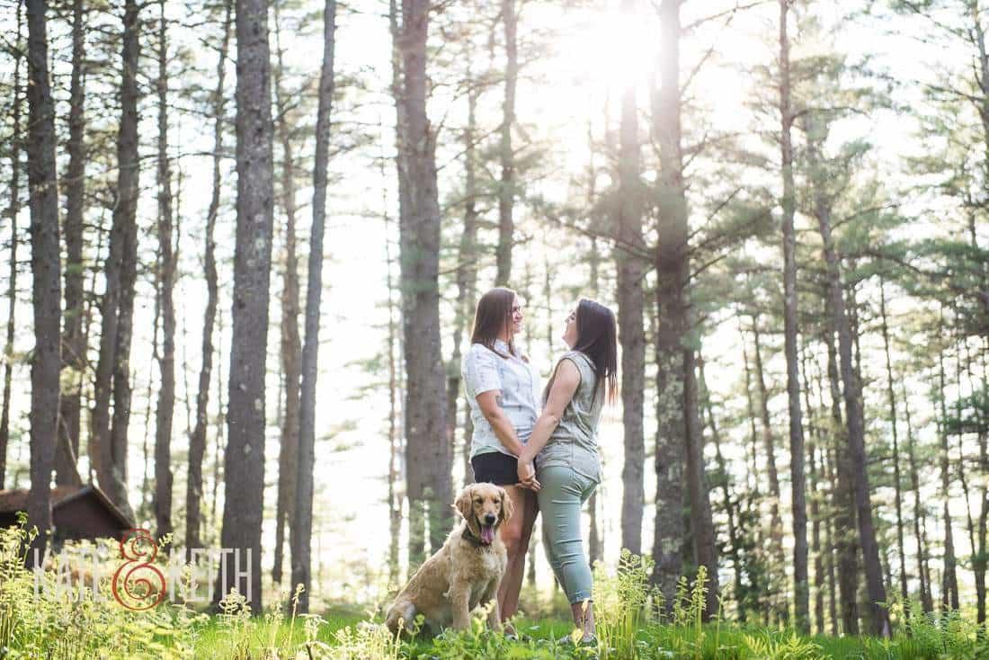NH Same Sex Engagement Photos