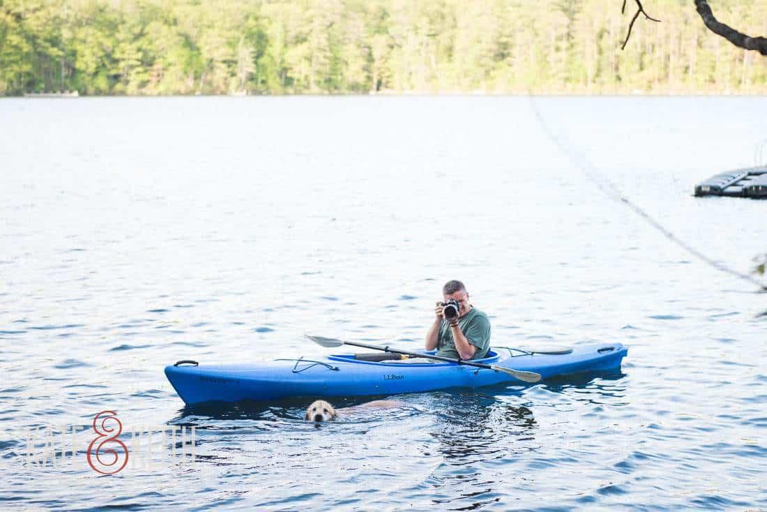 Keith Tharp Wedding Photographer in Kayak