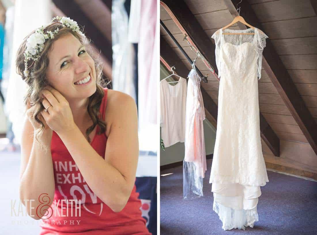 Waterville Valley Wedding Bride