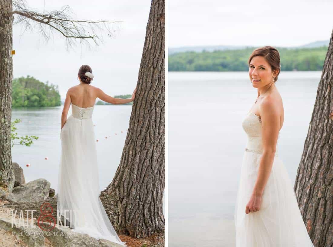 Sqam Lake Wedding Bride