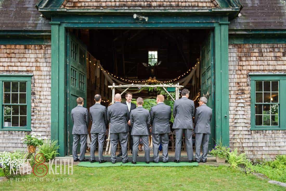 Farm Wedding Groomsmen