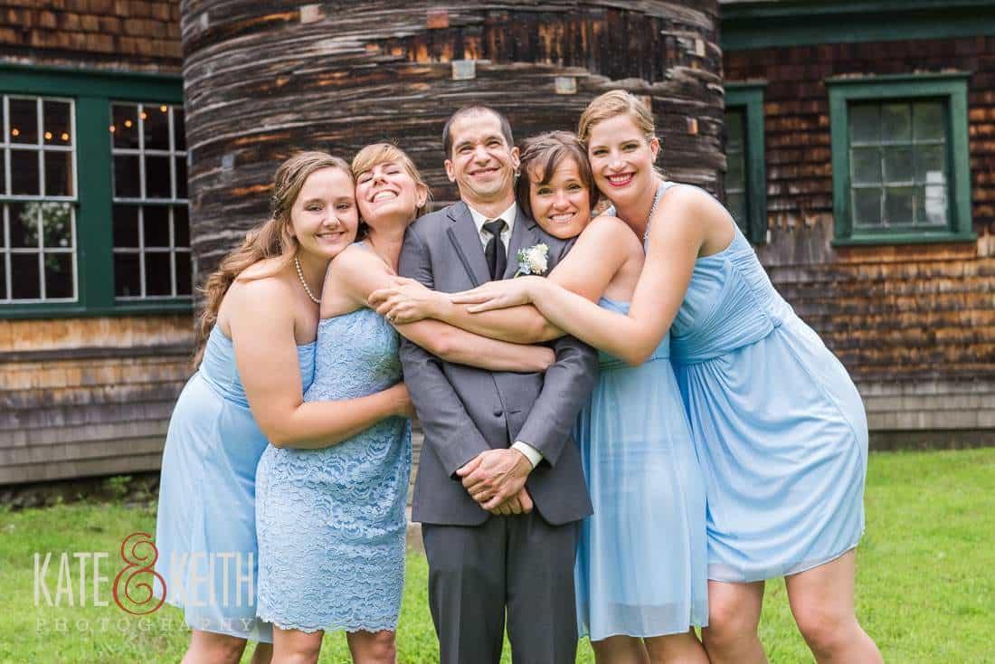 Groom Formals Farm Wedding Venue New Hampshire
