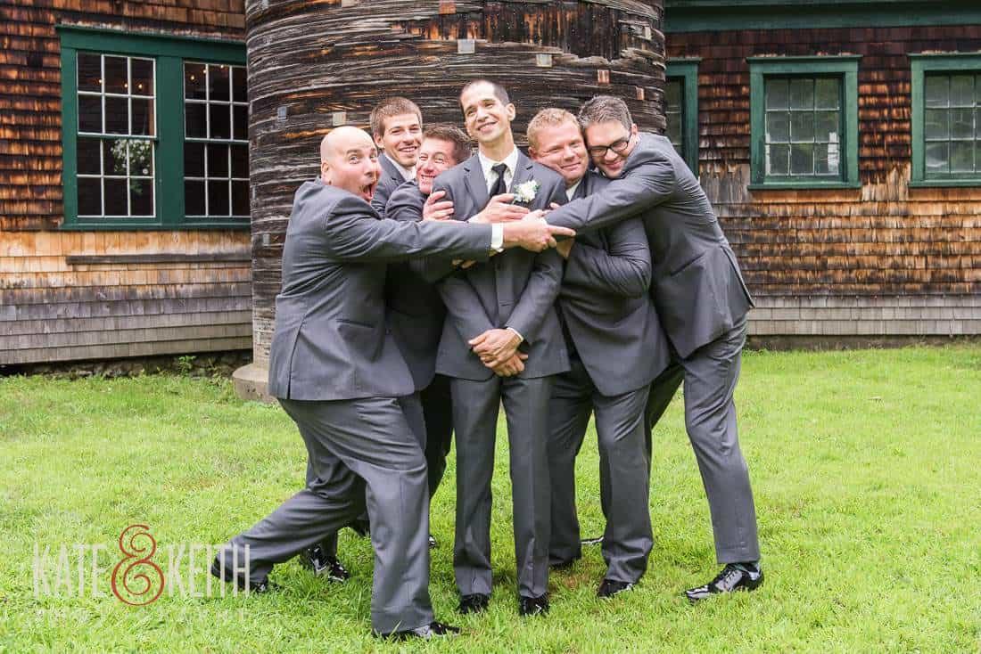 Groom Formals Barn Wedding Venue New Hampshire