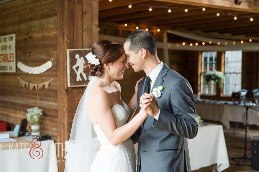 First Dance Barn Wedding