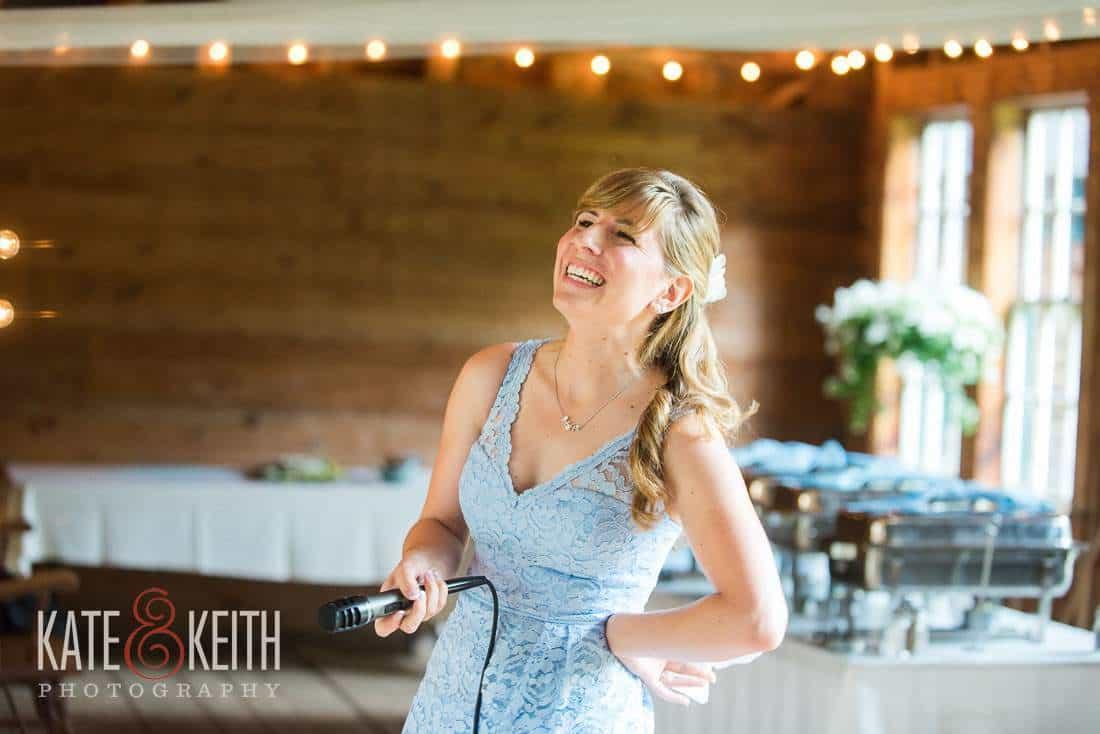 Bridesmaid Barn Wedding