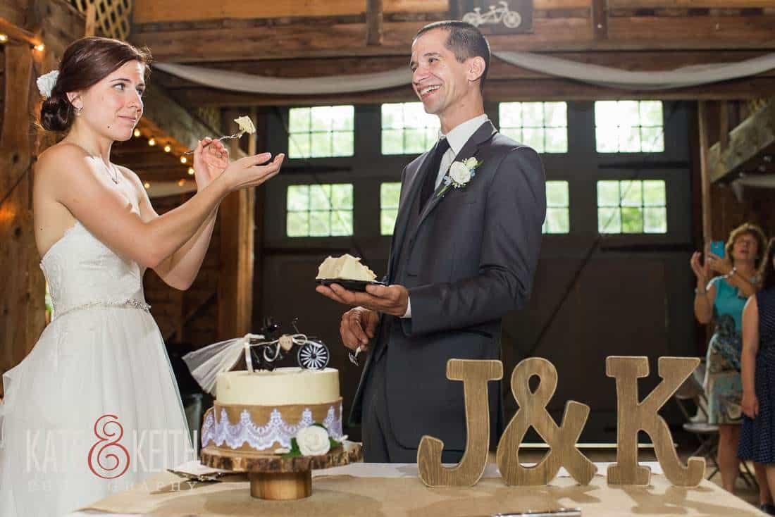 Wedding Cake Barn Wedding