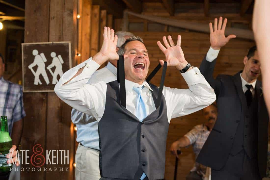 Barn Wedding Dancing Fun