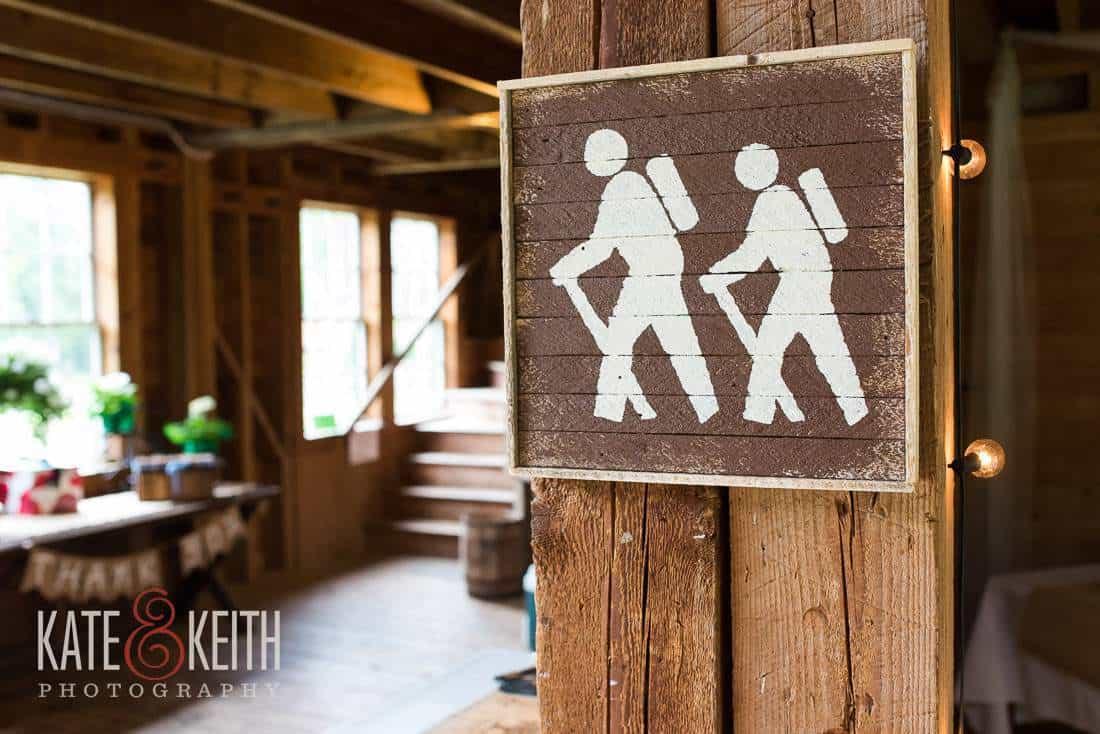 Outdoorsy Wedding Details Hiking