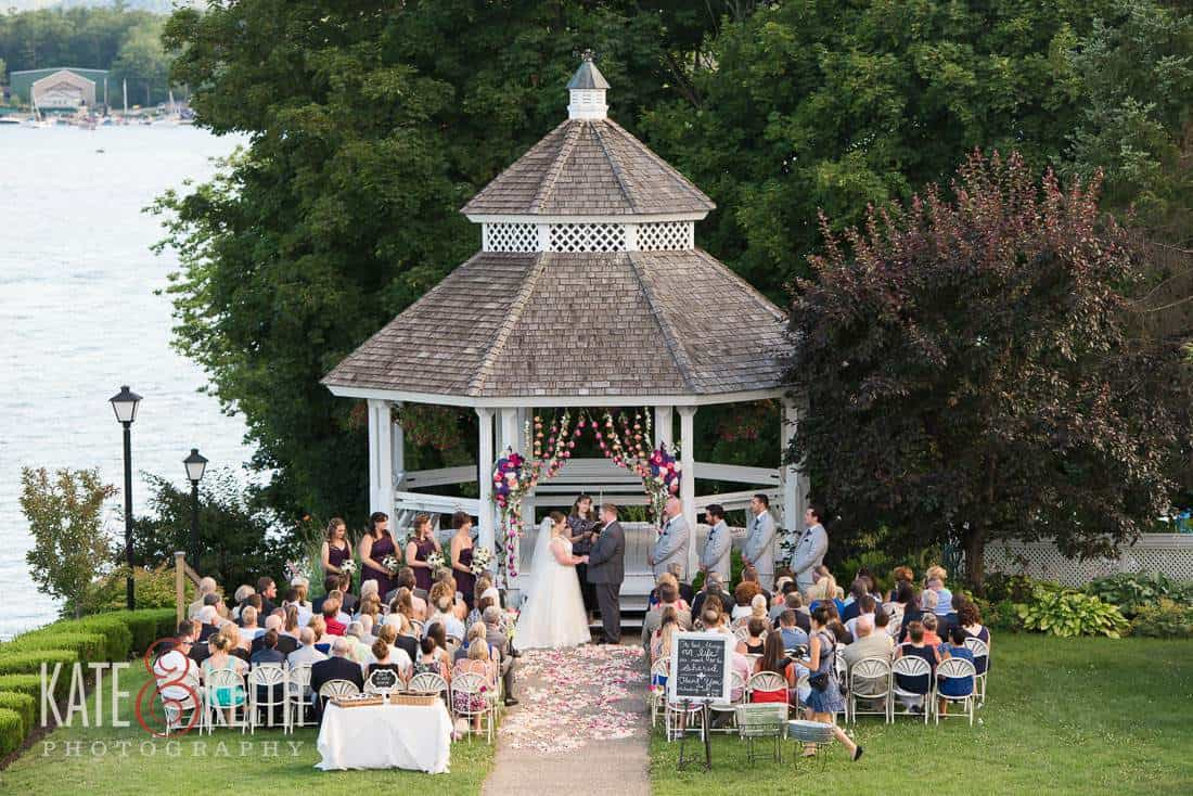 Wolfeboro Inn Wedding Gazebo