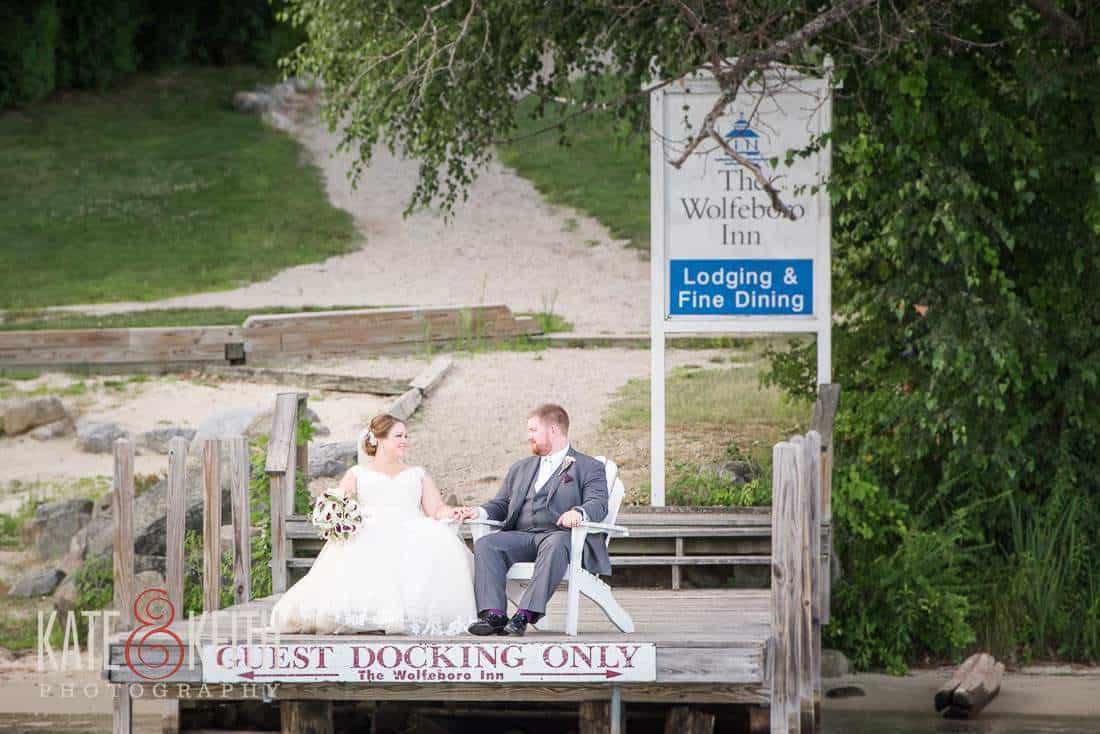 Wolfeboro Inn Wedding Photos