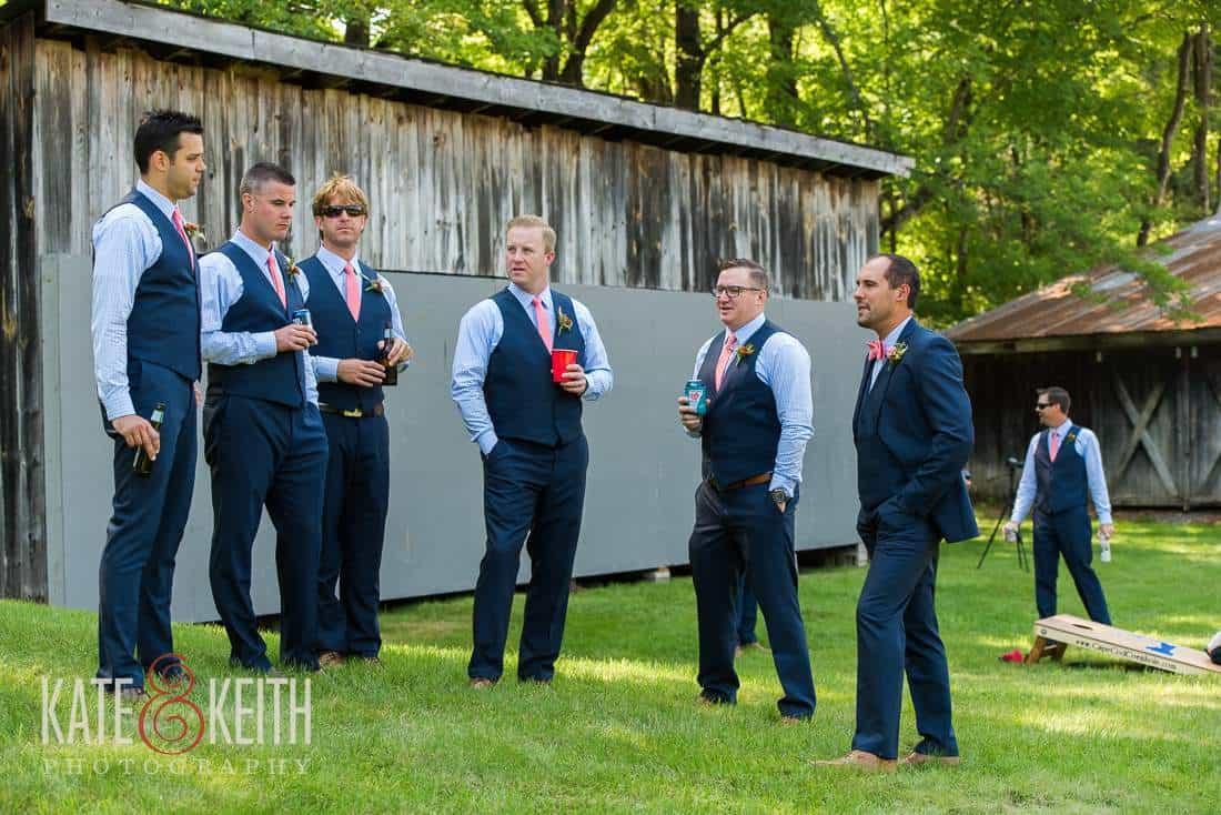 Grafton Inn Wedding Groomsmen