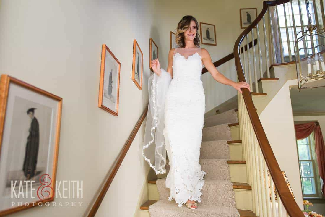 Grafton Inn Wedding Bride