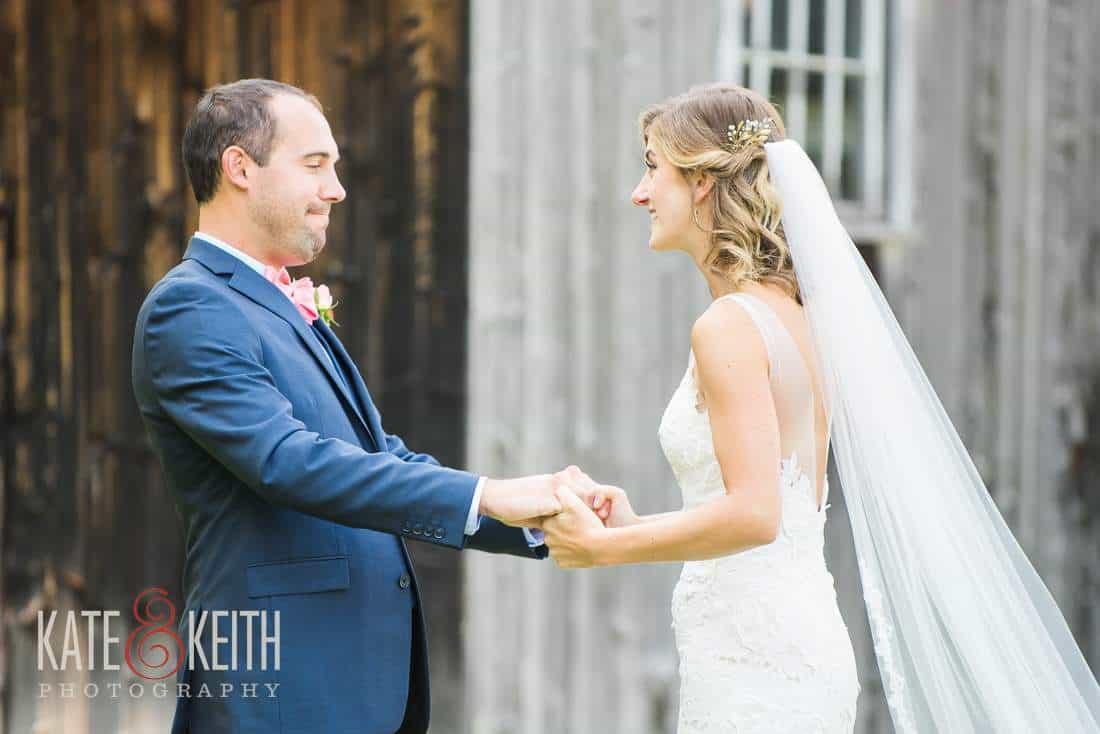 Grafton Inn Wedding First Look