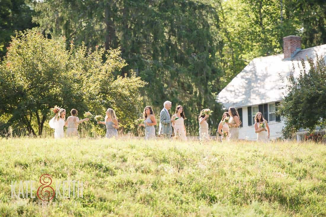 Casual Field Wedding