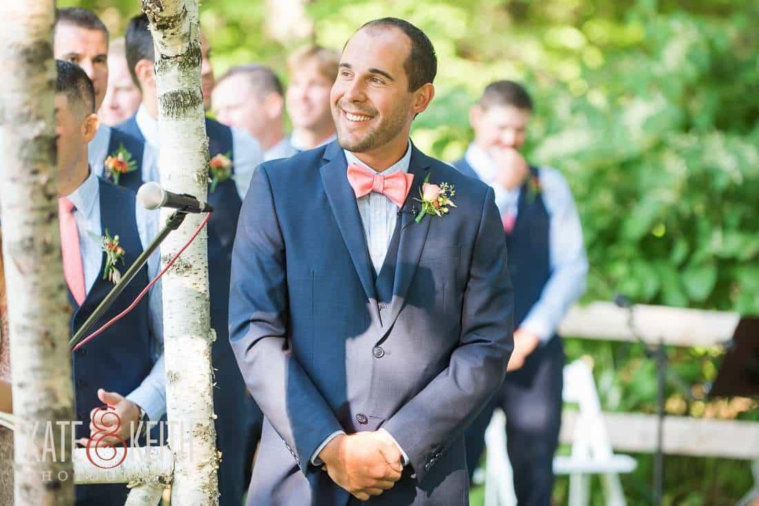Groom Outdoor Wedding