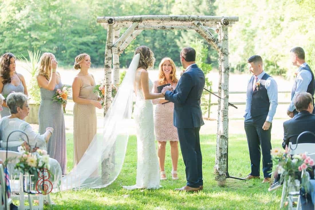 Grafton Inn Outdoor Wedding Ceremony