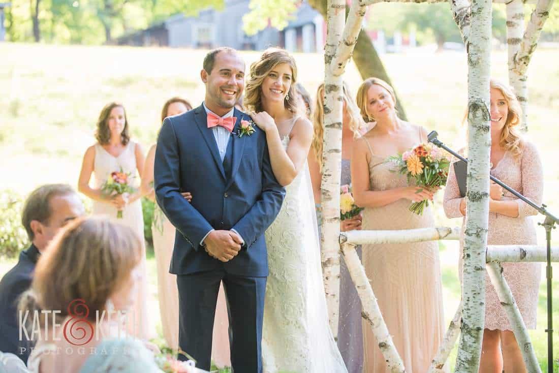 Outdoor Formal Wedding Vermont