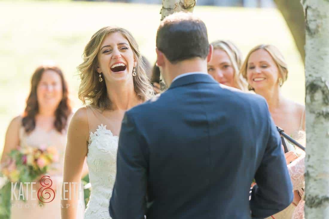 Vermont Outdoor Wedding Bride