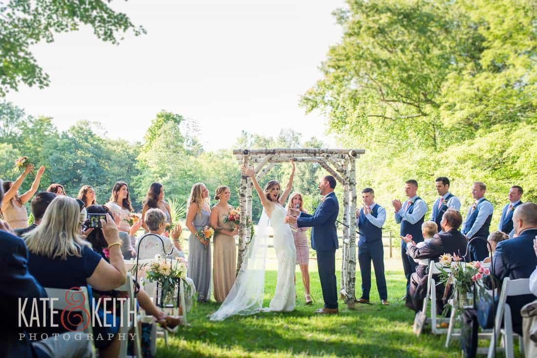 Grafton Inn Wedding Outdoor Ceremony Location