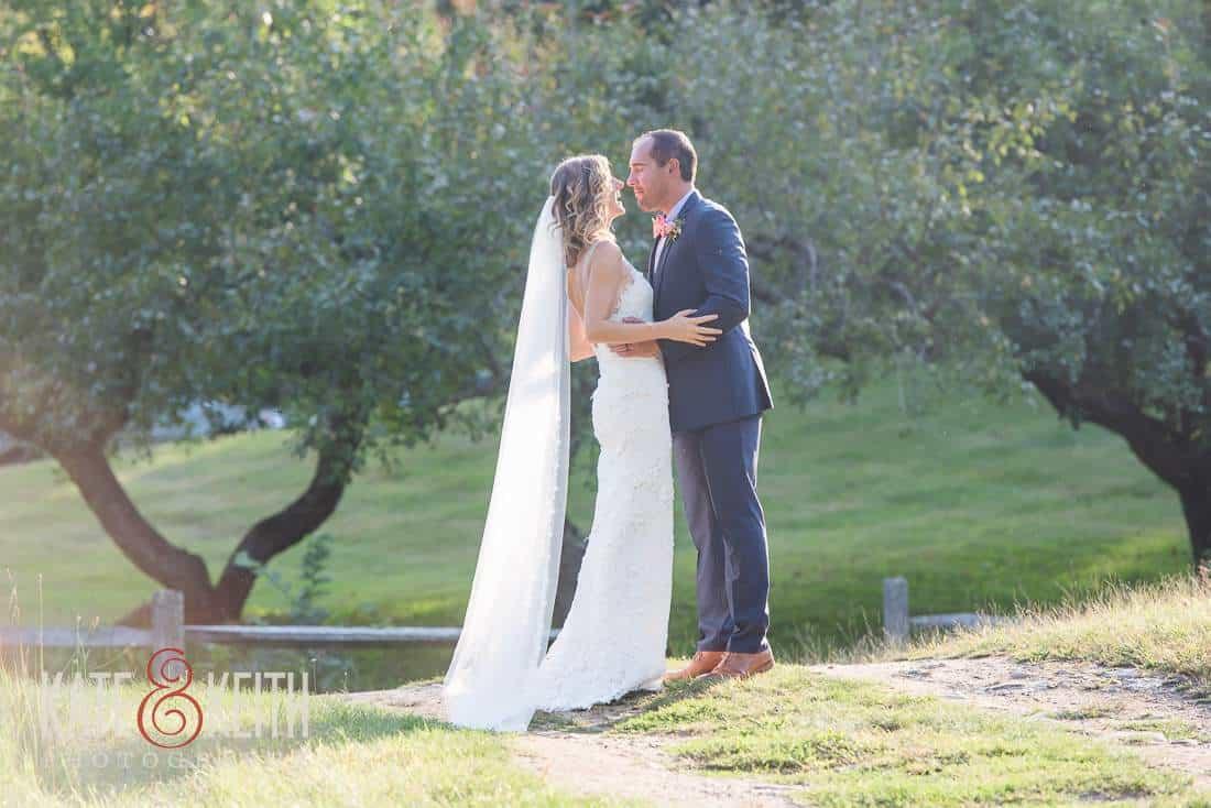 Grafton Inn Wedding Bride Groom Country Road