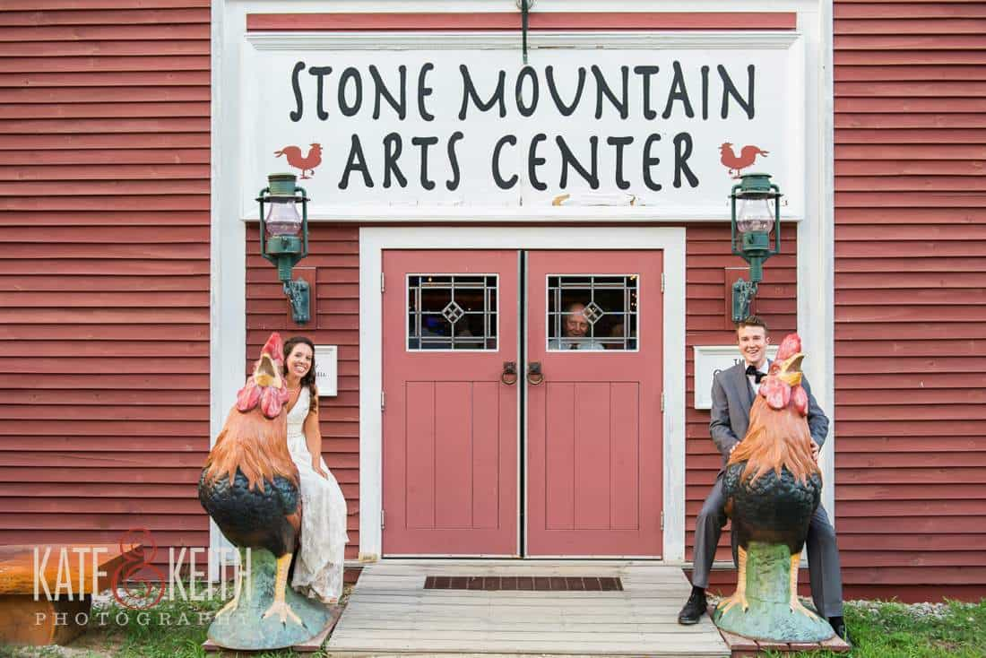 Stone Mountain Arts Center Wedding Barn