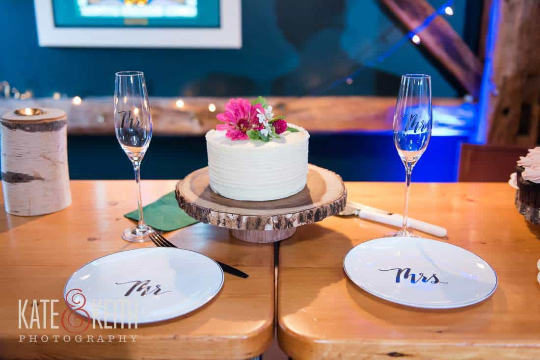Wedding Signature cake plates