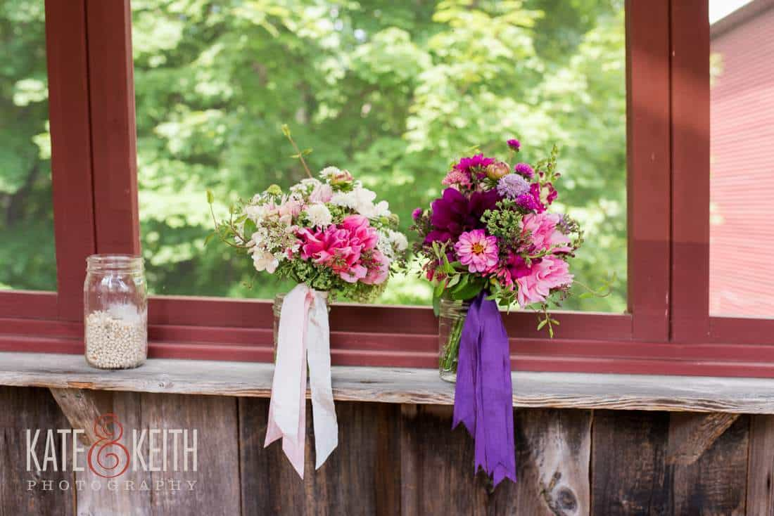 Maine Barn Wedding Venue Flowers