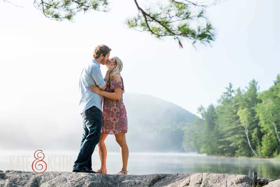 Acadia National Park Engagement Pictures