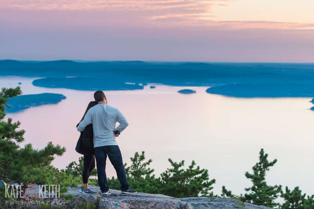 Acadia Proposal Location with view
