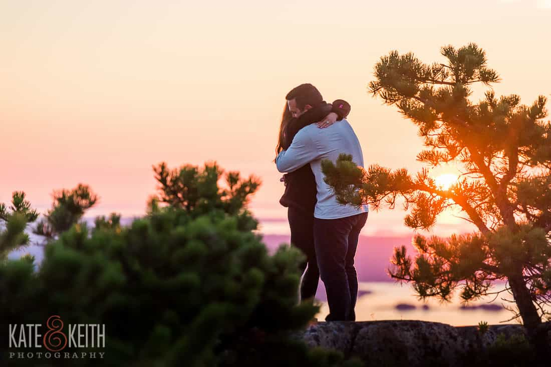 She Said Yes Acadia National Park Proposal