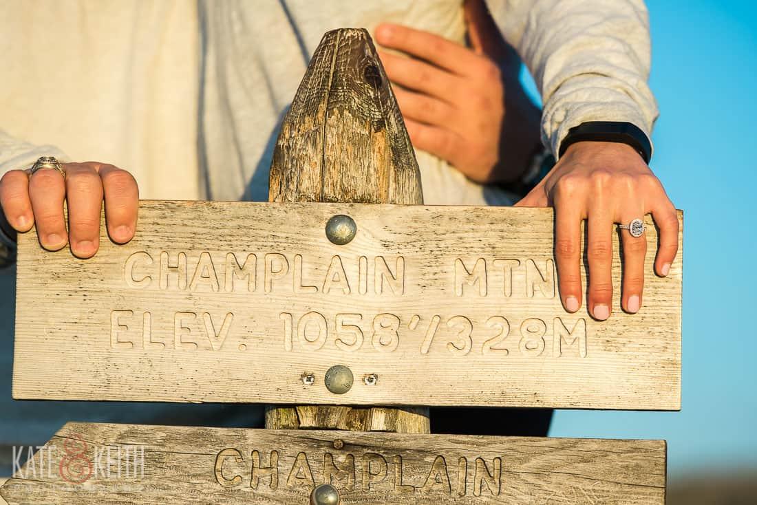 Champlain Mountain Engagement Photos Acadia