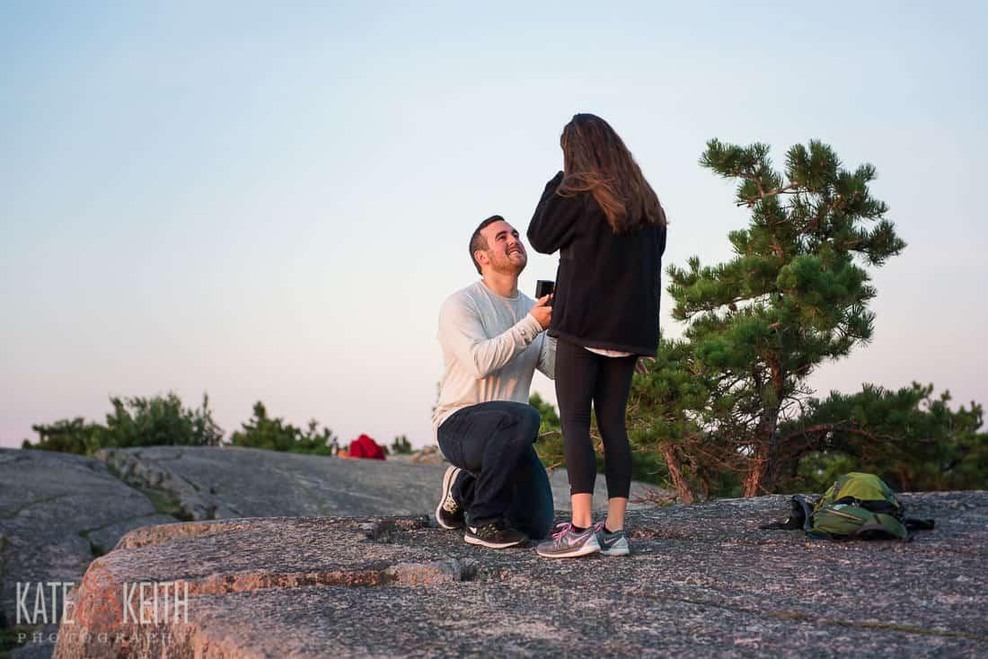 Surprise Acadia Proposal Location