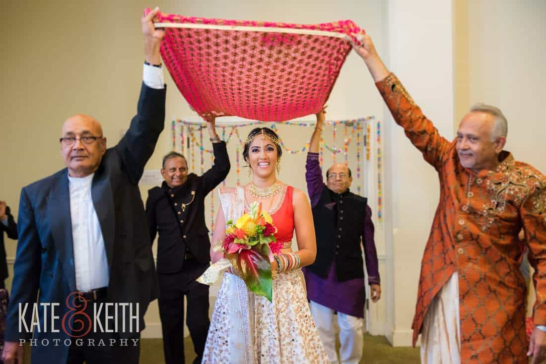 Indian Bride Arrival