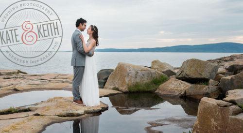 Acadia National Park Wedding, Schoodic Point