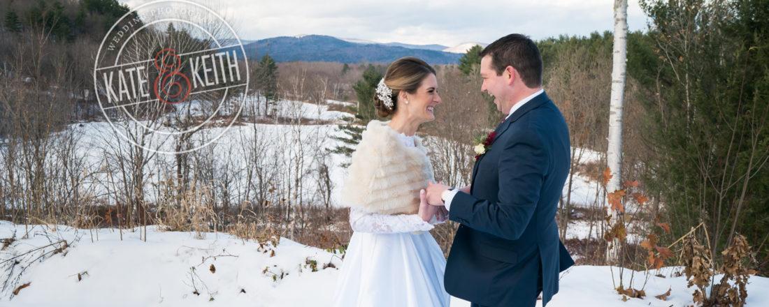 Barn on the Pemi Wedding Photo