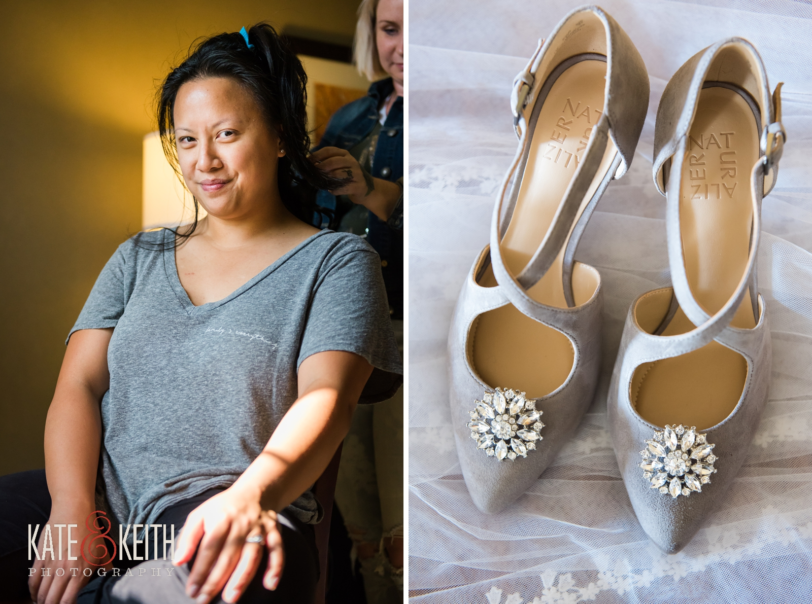 wedding weekend, Jackson, New Hampshire, Whitney's Inn, getting ready, wedding photographers, weekend events, outdoor wedding, comfortable wedding shoes, wedding gown by Jewel, autumn wedding, fall wedding, mountain wedding, weekend wedding