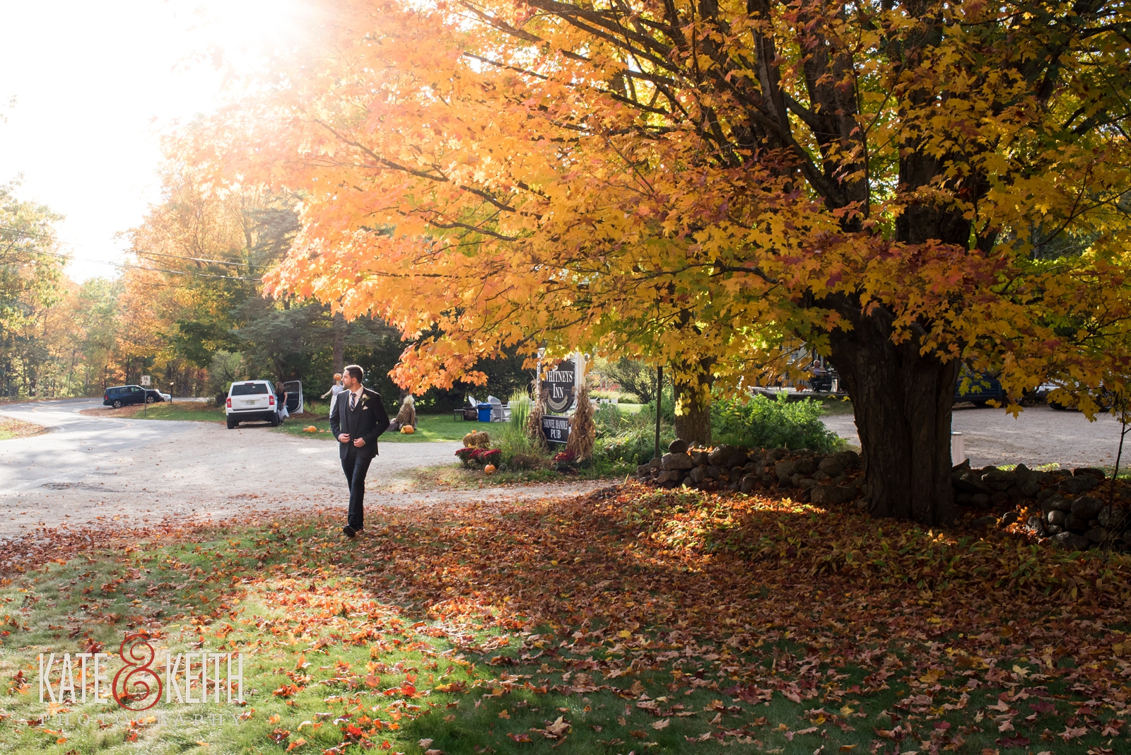 wedding weekend, Jackson, New Hampshire, Whitney's Inn, wedding ceremony, wedding photographers, outdoor wedding ceremony, weekend events, outdoor wedding,  autumn wedding, fall wedding, mountain wedding, weekend wedding, first look, New England, natural wedding photos