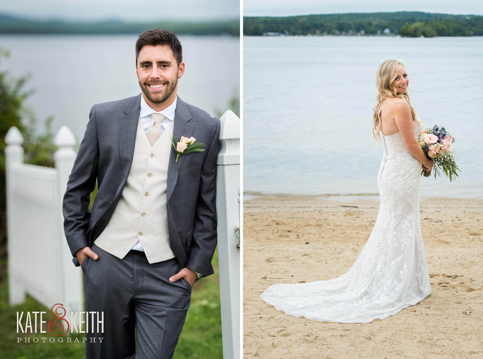 New Hampshire, Lakes Region, Lake Winnipesaukee, The Margate Resort, wedding, outdoor wedding, lakeside wedding, portraits, wedding portraits, bride and groom, bridal portraits, groom portraits, bridal party