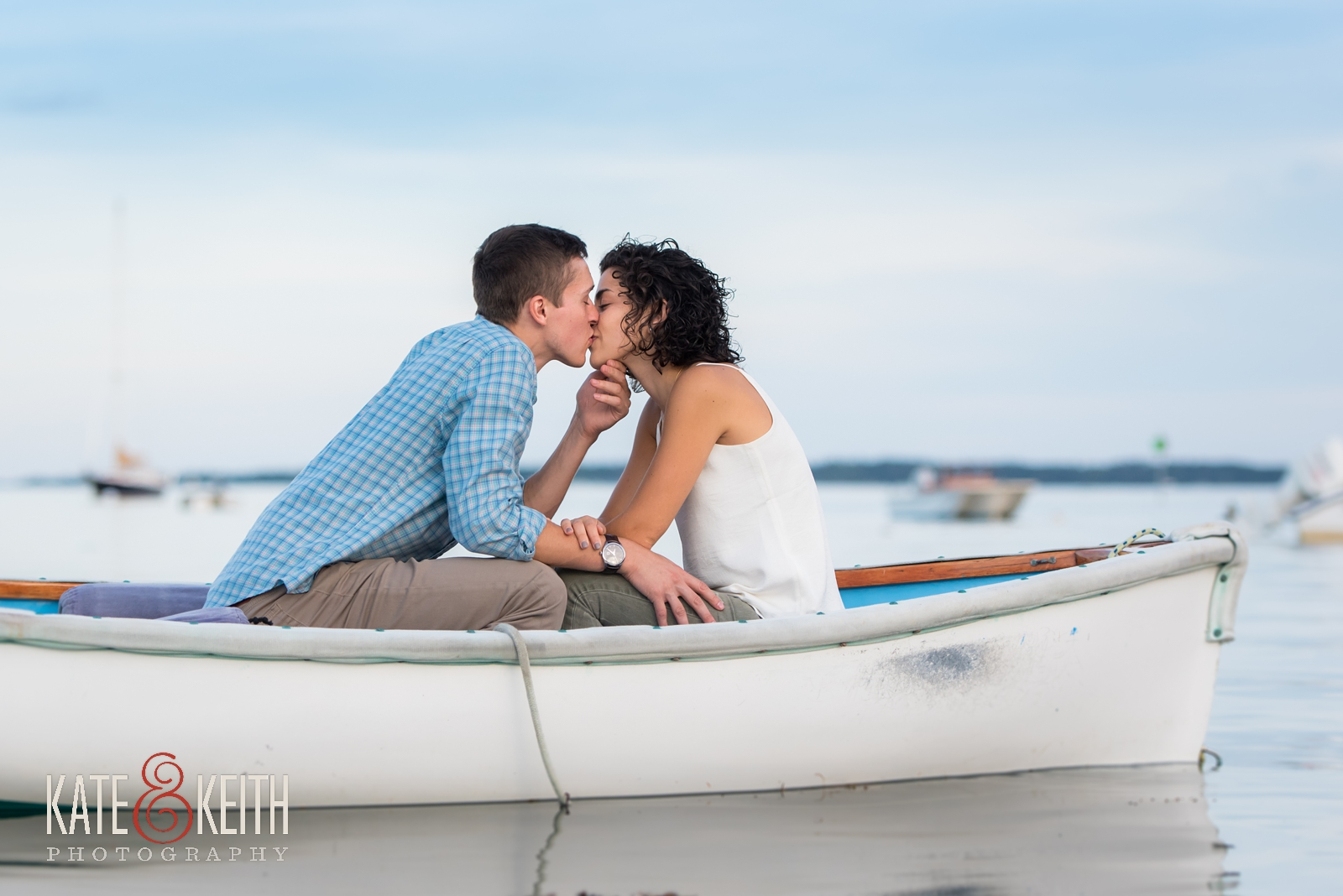 proposal photos,  boat, surprise proposal, proposal in Acadia National Park, Southwest Harbor, Mount Desert Island, seaside, sunset proposal, engagement, getting engaged in Acadia National Park, rowboat,engagement photos, coastal Maine, New England, sailboats, dock, waterfront engagement